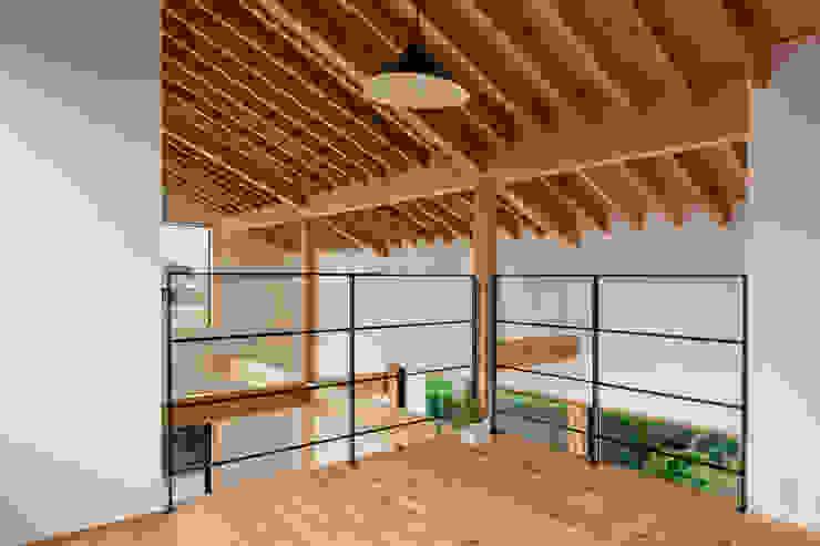 記憶を繋ぐコリドー オリジナルな 家 の スタジオアウラ一級建築士事務所 オリジナル