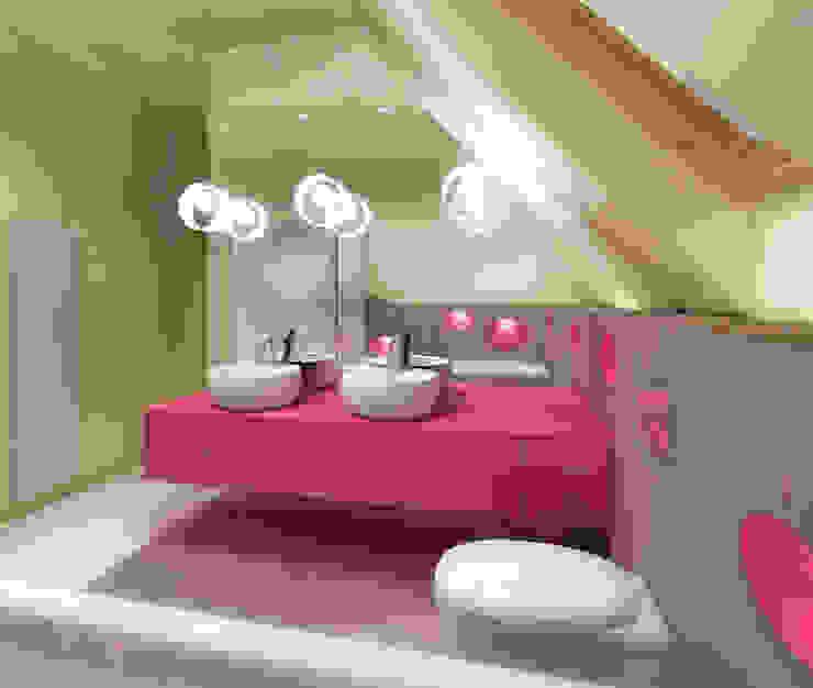 Studio Projektowe Projektive:  tarz Banyo,