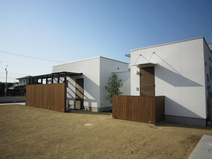 エントランス モダンな 家 の Arata Architect Studio モダン