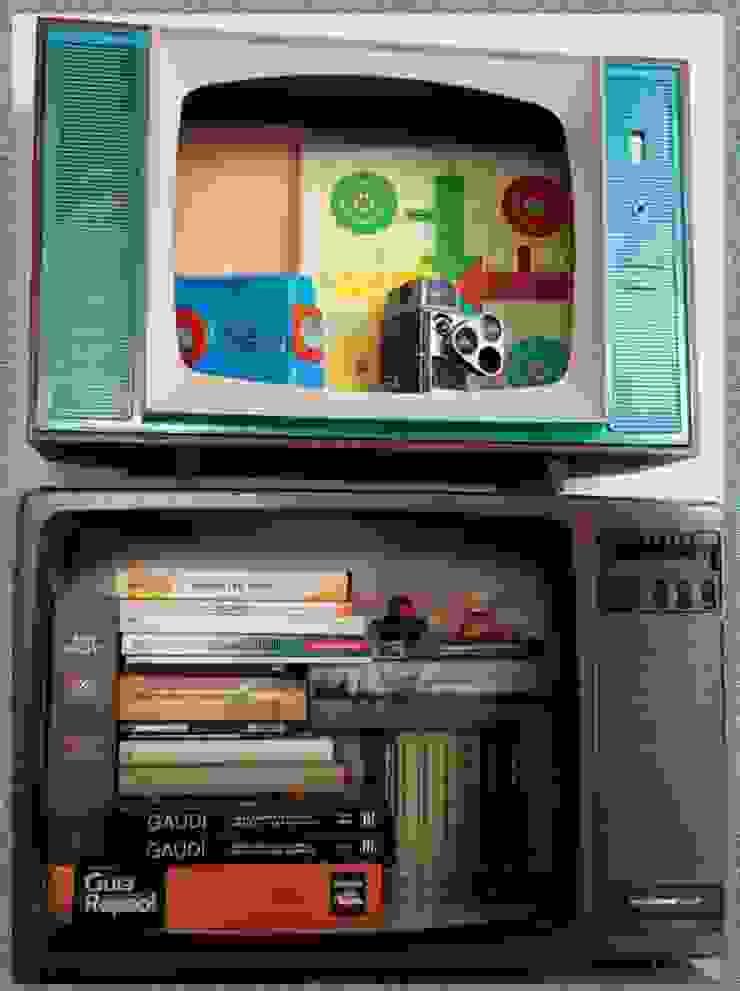 CAJAS TONTAS (estantería/almacenamiento):  de estilo industrial de GRUPO ARTS and CRAFTS, Industrial
