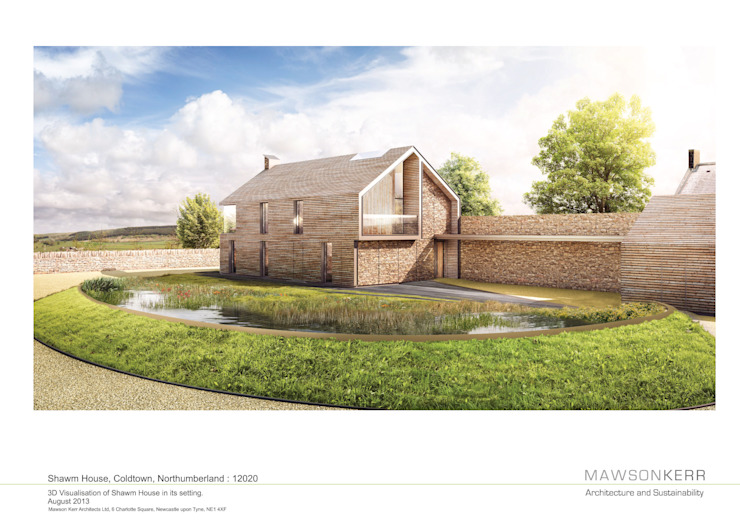 Shawm House by Mawson Kerr