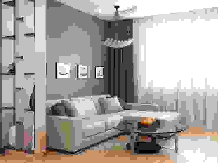Salas de estilo moderno de Студия дизайна 'New Art' Moderno