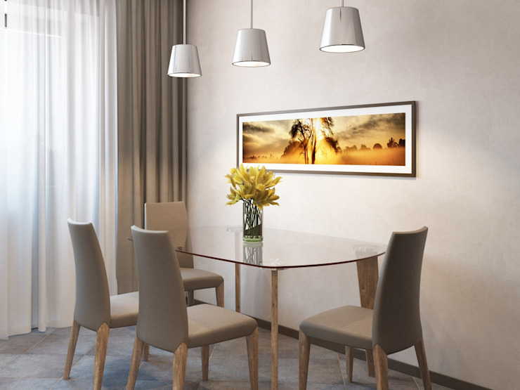 Современная квартира Кухня в стиле модерн от Студия дизайна 'New Art' Модерн