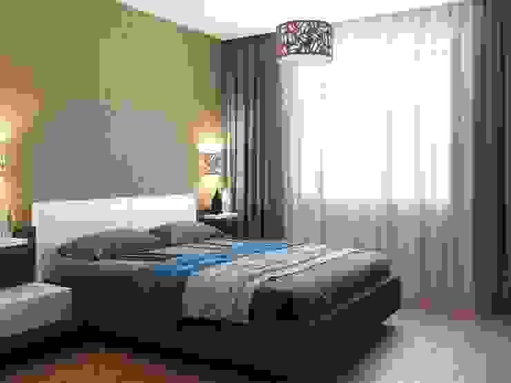 Современная квартира Спальня в стиле модерн от Студия дизайна 'New Art' Модерн