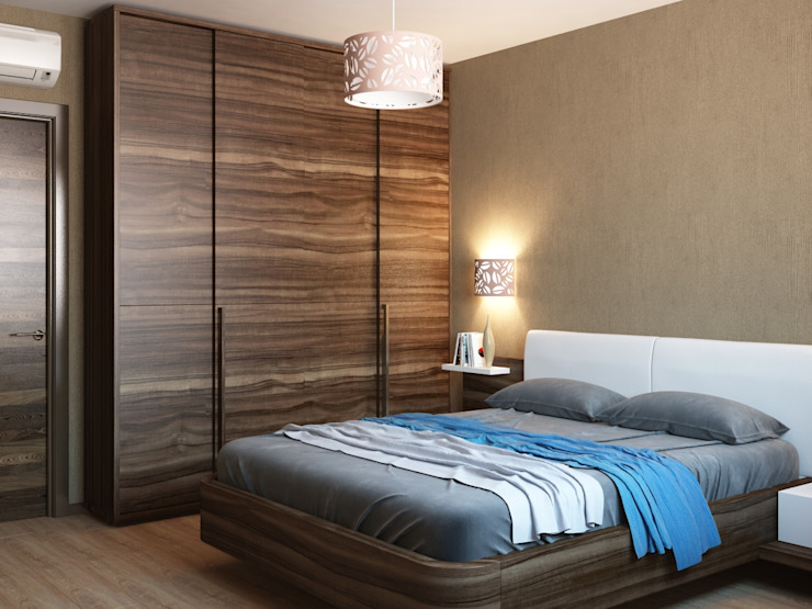 Modern style bedroom by Студия дизайна 'New Art' Modern