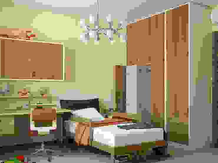 Современная квартира Детская комната в стиле модерн от Студия дизайна 'New Art' Модерн
