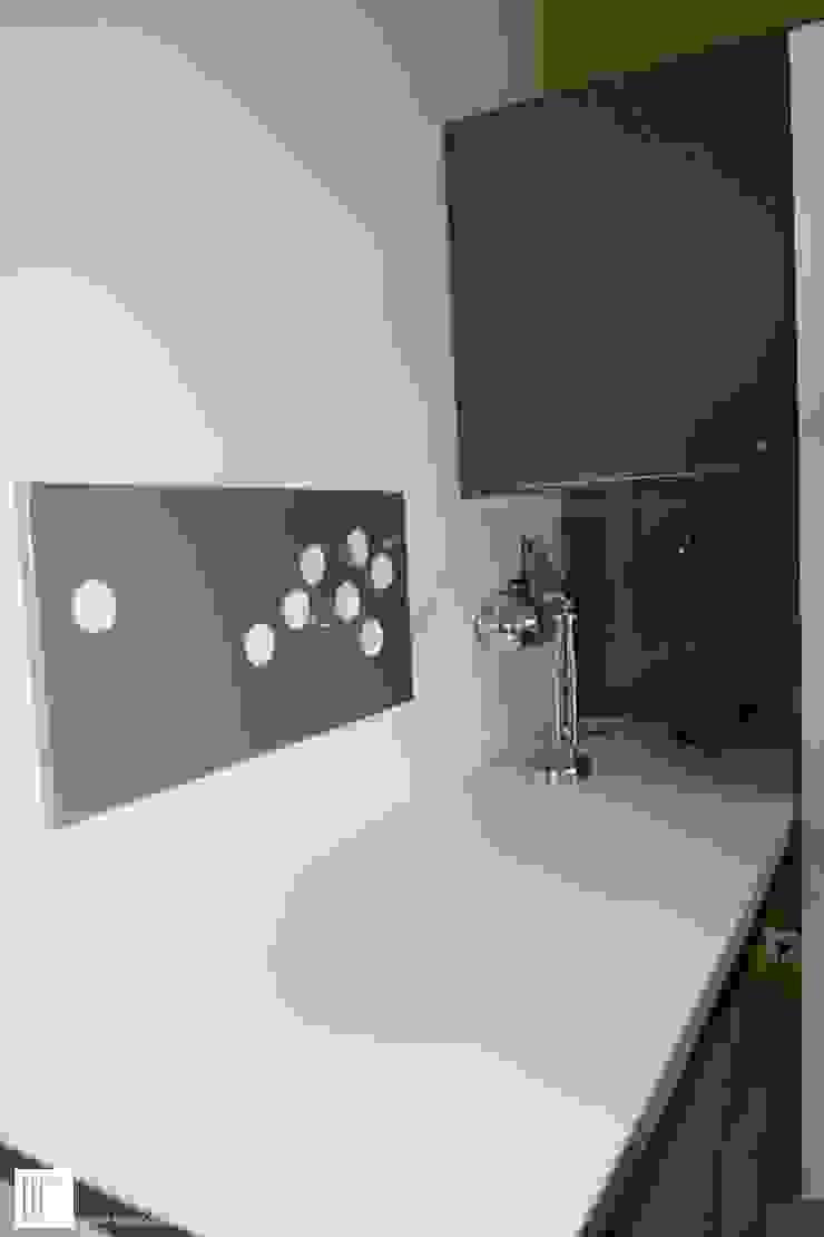 Appartement à Cannes meublé entièrement par wm Bureau moderne par ATELIER WM Moderne