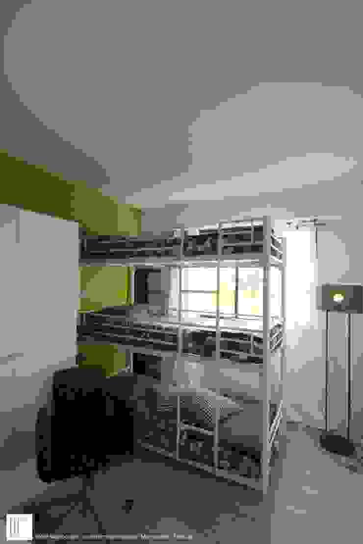 Appartement à Cannes meublé entièrement par wm Chambre d'enfant moderne par ATELIER WM Moderne