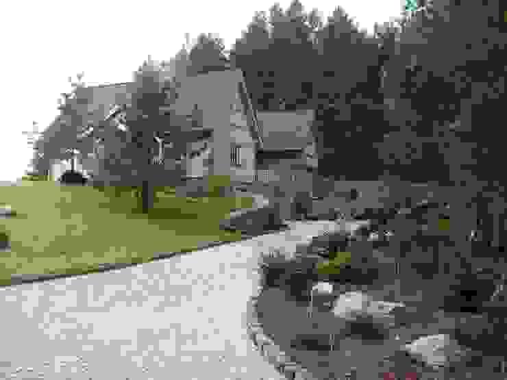Dom Zelwa Wiejskie domy od Pracownia Tutaj Wiejski