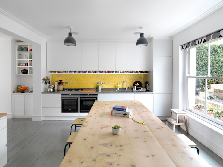House for an Architect Huizen van Kilburn Nightingale