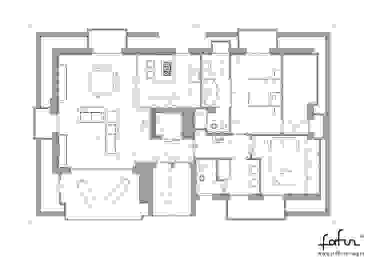 Attico a Cesano Maderno Case moderne di Architetto ANTONIO ZARDONI Moderno