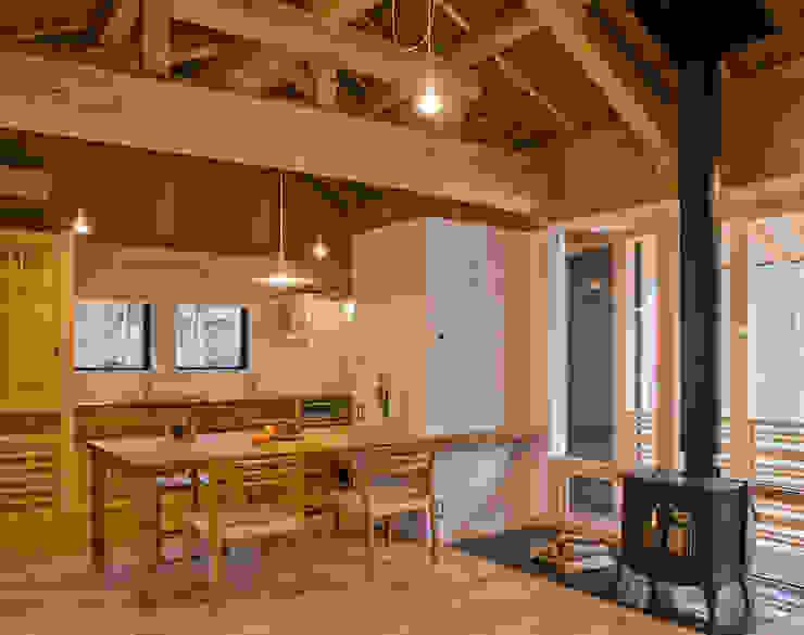 House in Daisen 北欧風 家 の 大角雄三設計室 北欧 木 木目調