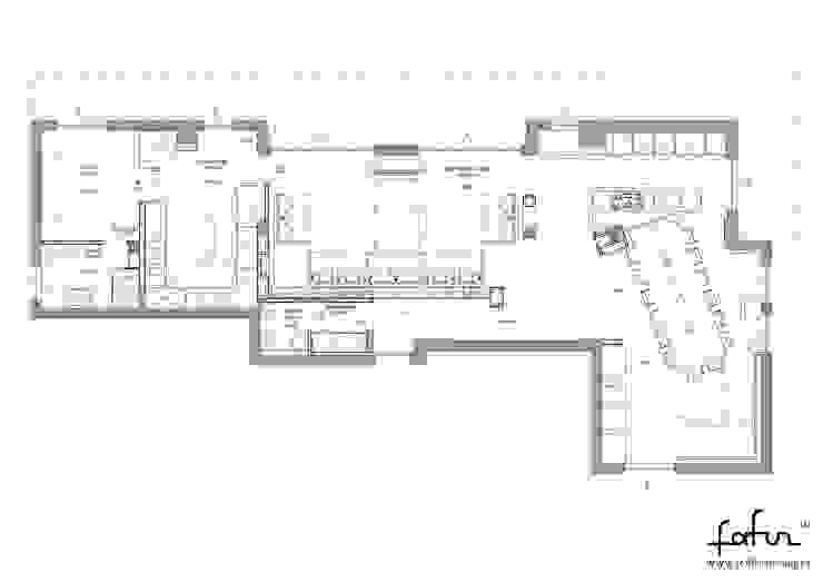 Attico su due livelli a Desio Case moderne di Architetto ANTONIO ZARDONI Moderno