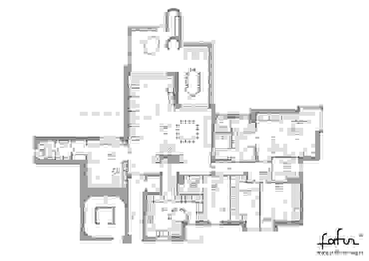Milano 2 – Residenza Orione Case moderne di Architetto ANTONIO ZARDONI Moderno