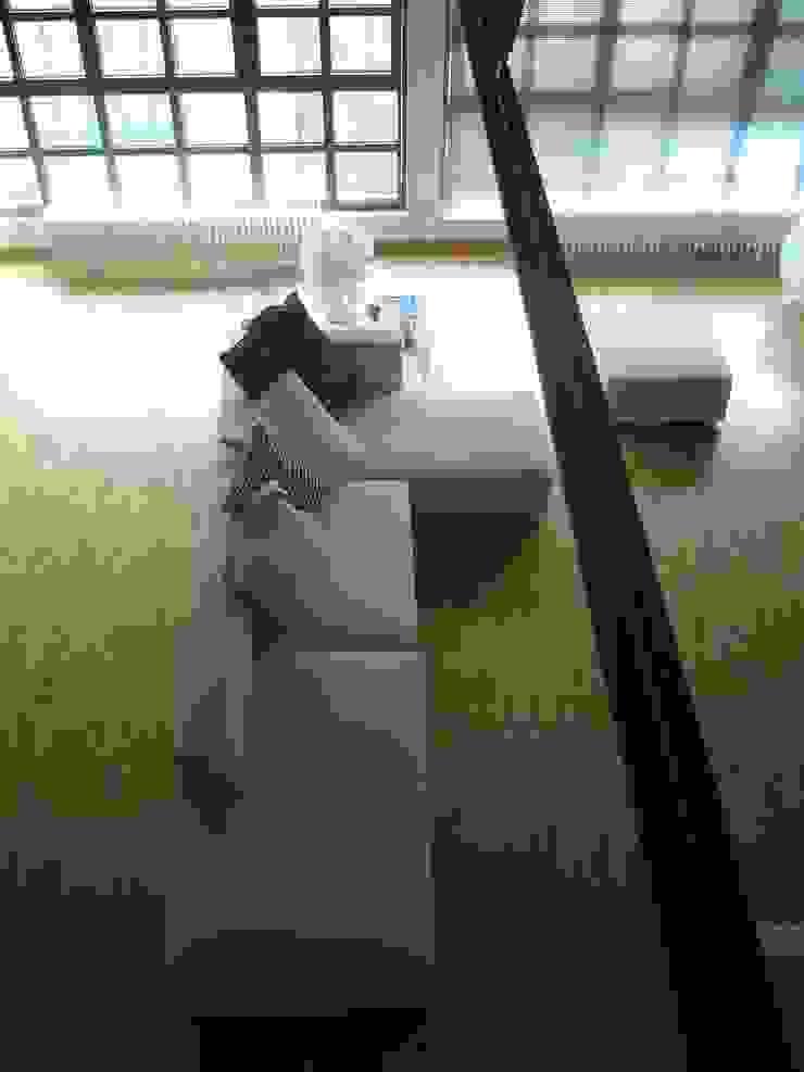 Salon industriel par Paola Maré Interior Designer Industriel