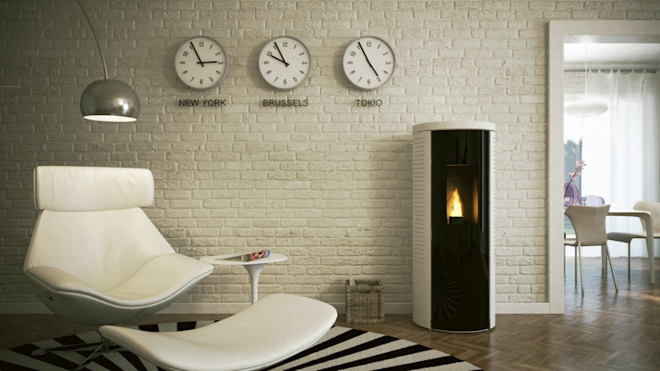 Stufe a pellet Skia Design di MaisonFire