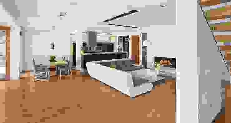 Living room by ARCHiPUNKTURA .architekci detalu, Modern