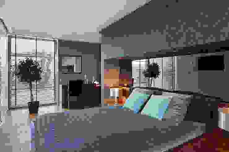 Спальня в стиле модерн от ARCHiPUNKTURA .architekci detalu Модерн