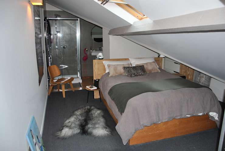 Chambre Chambre scandinave par HOMEtimisation Scandinave