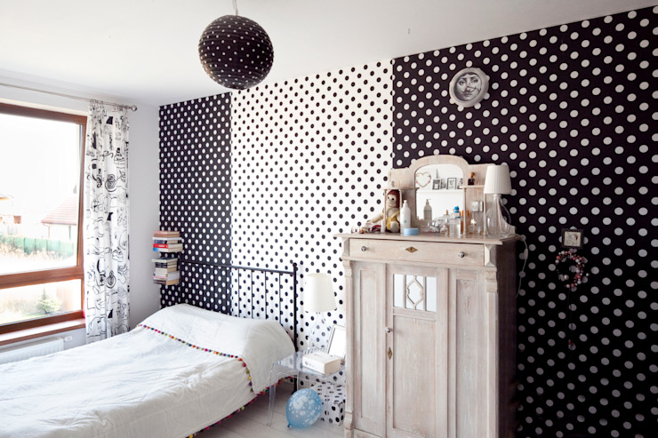 Eclectic style bedroom by PIANZU Eclectic