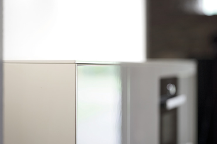 The quality is in the details, extreme attention is paid to every edge. par fit Kitchens Moderne