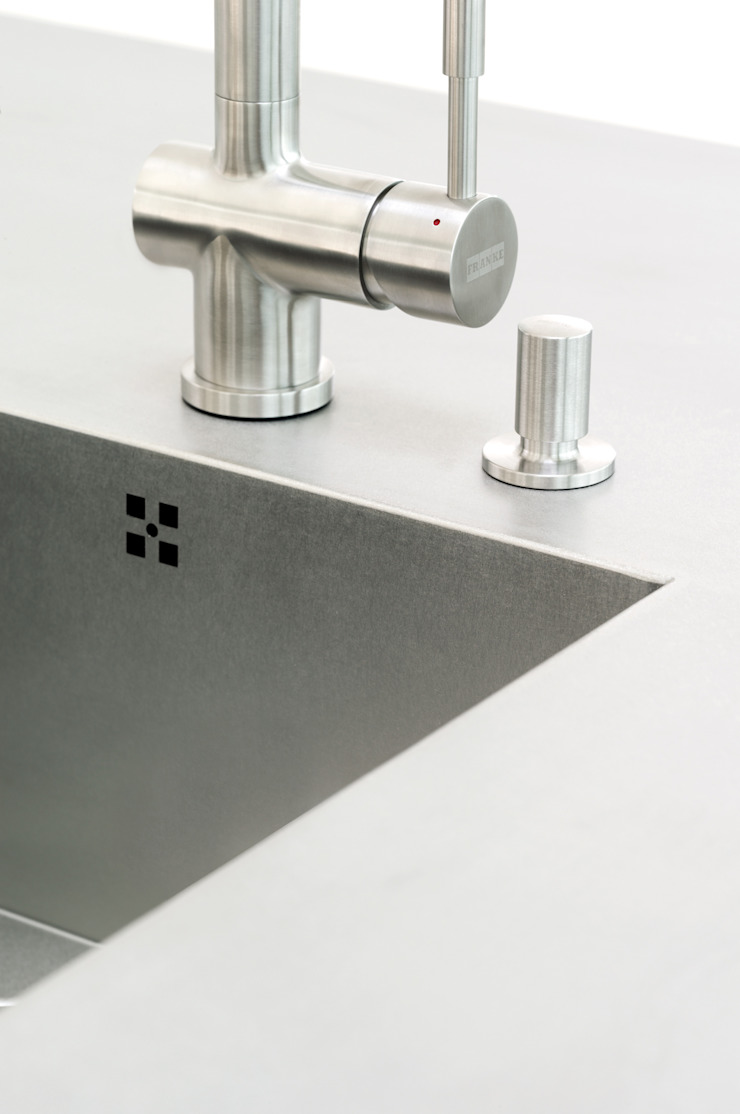 The quality is in the details. par fit Kitchens Minimaliste