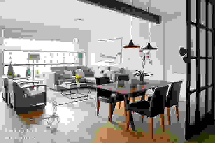 Salas de estar minimalistas por Interiorismo Paloma Angulo Minimalista