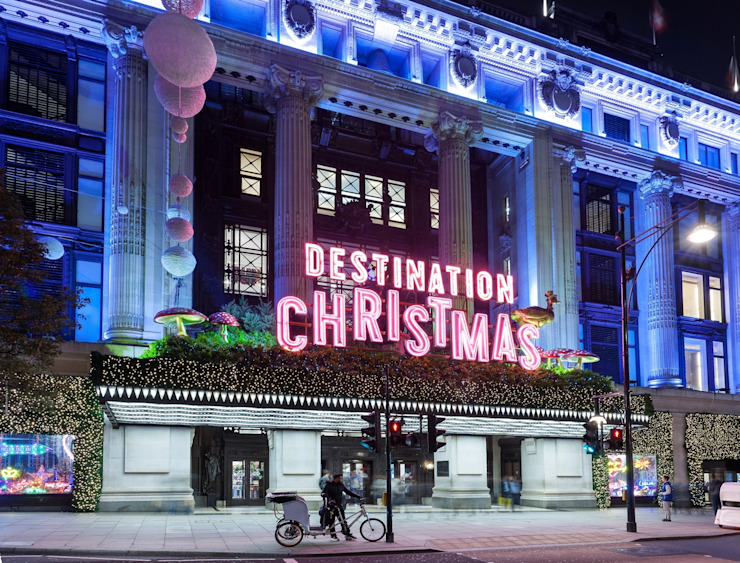 Christmas Window by Selfridges