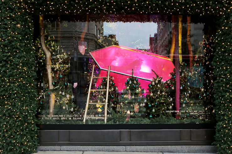 Christmas Window de Selfridges