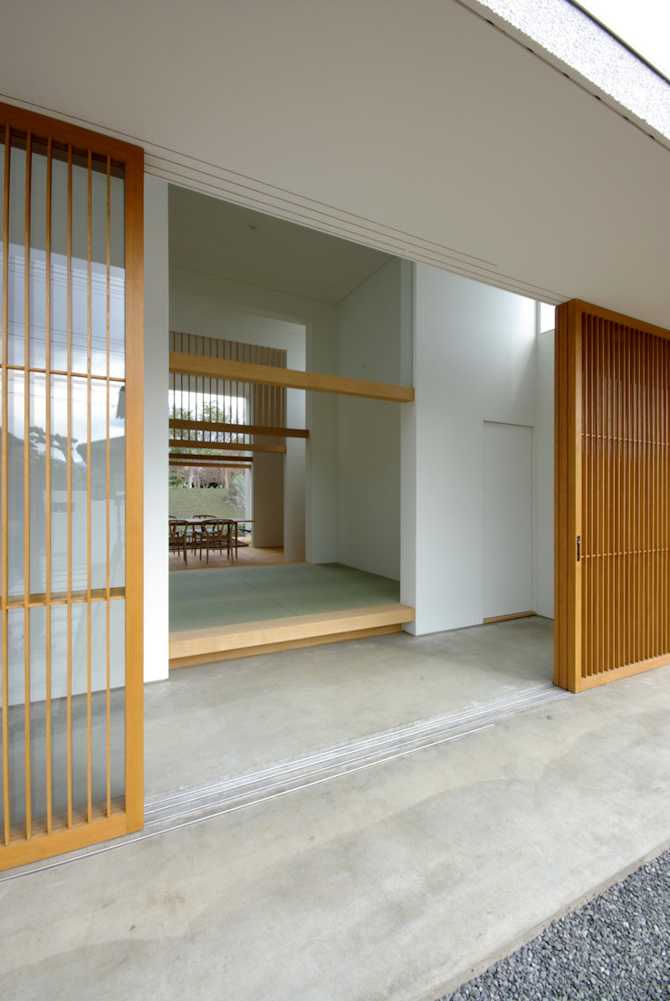 富士宮の家 モダンな 家 の CASE DESIGN STUDIO モダン