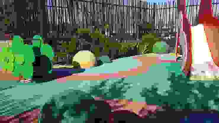 OCEAN VERT – JARDIN THERAPEUTIQUE Jardin moderne par ZENOBIA Atelier de Paysage et d'Urbanisme Moderne