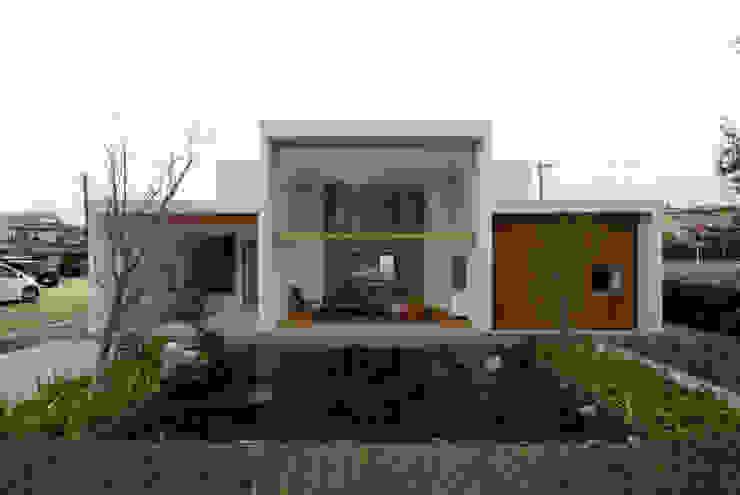 House in Fujinomiya 모던스타일 주택 by CASE DESIGN STUDIO 모던