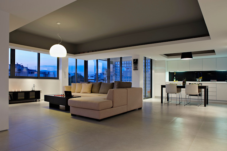 Single man's flat downtown Athens by studioReskos