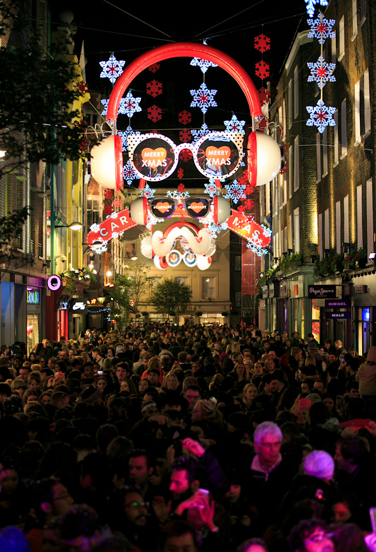 Carnaby Christmas by Carnaby Christmas Lights Installation