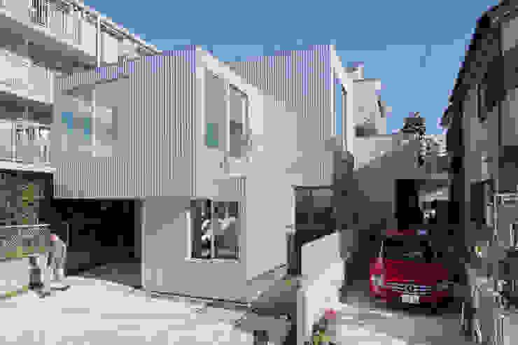 House in Chayagasaka 모던스타일 주택 by 近藤哲雄建築設計事務所 모던