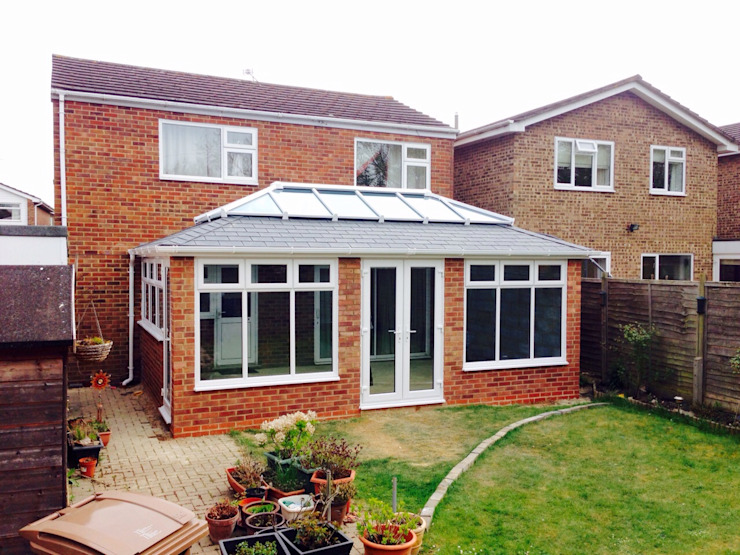 Roofing projects Classic style conservatory by Ploughcroft Classic