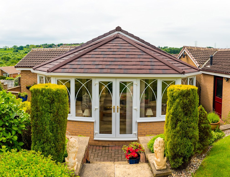 Roofing projects Зимний сад в классическом стиле от Ploughcroft Классический