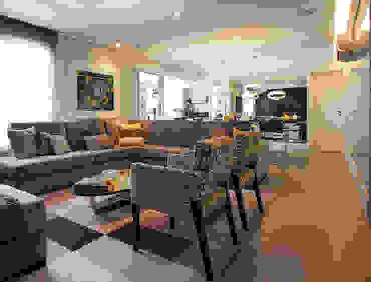 sala de estar por Andréa Gonzaga Moderno