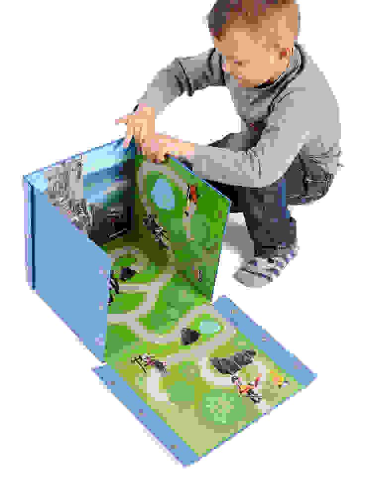 Boîte de jeu et rangement Playmobil CHEVALIERS par IMPEX - My Note Deco Moderne