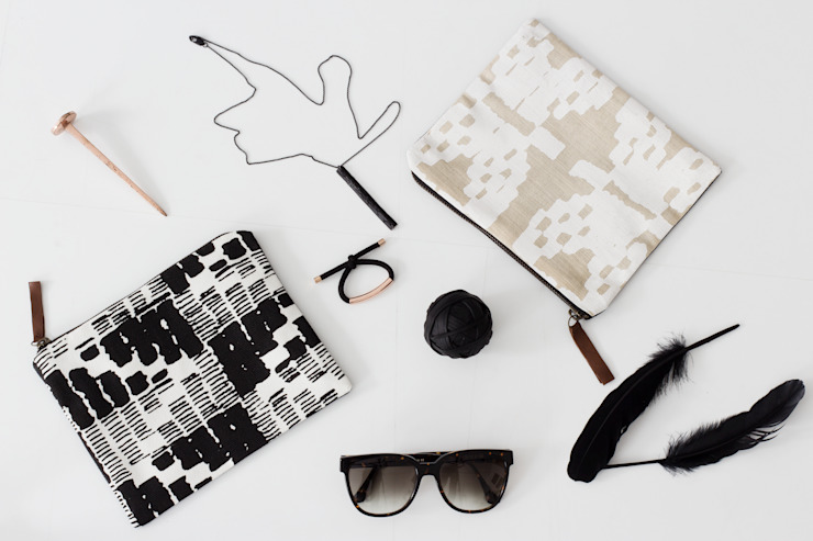 Screen printed pouches by bococo