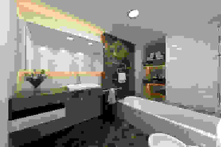 Interior bathroom bởi Marmi di Carrara