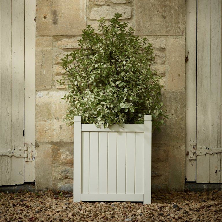 New large zinc: eclectic  by Rustic garden, Eclectic