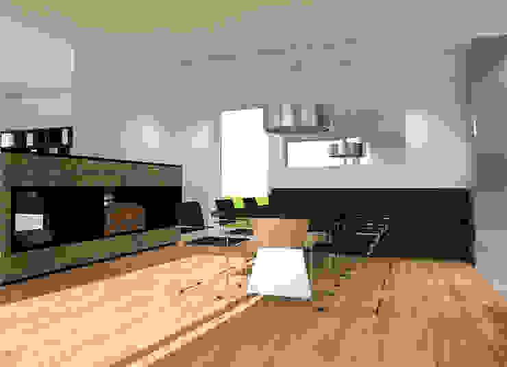 Haus M.   Essbereich   Küche Variante A Innenarchitektur   Ina Nimmrichter Moderne Esszimmer