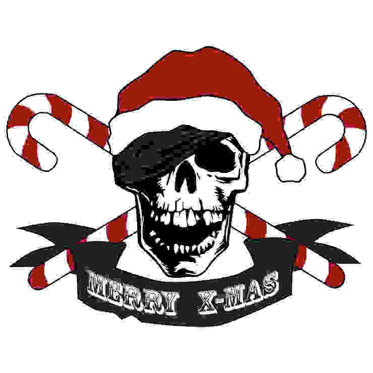 Weihnachts-Totenkopf von Denoda Ausgefallen