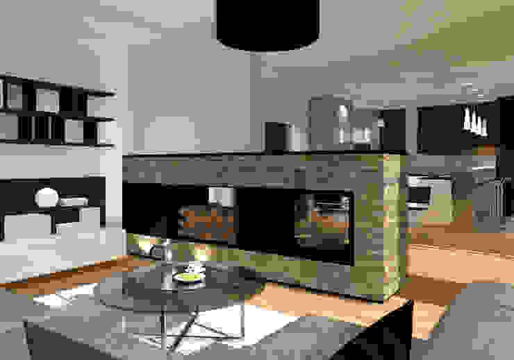 Innenarchitektur | Ina Nimmrichter 现代客厅設計點子、靈感 & 圖片