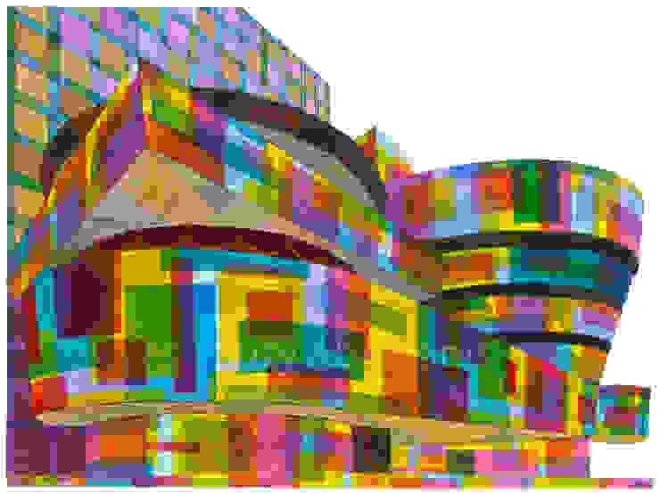 Guggenheim New York No.2: modern  by Suzy Abrahams, Modern