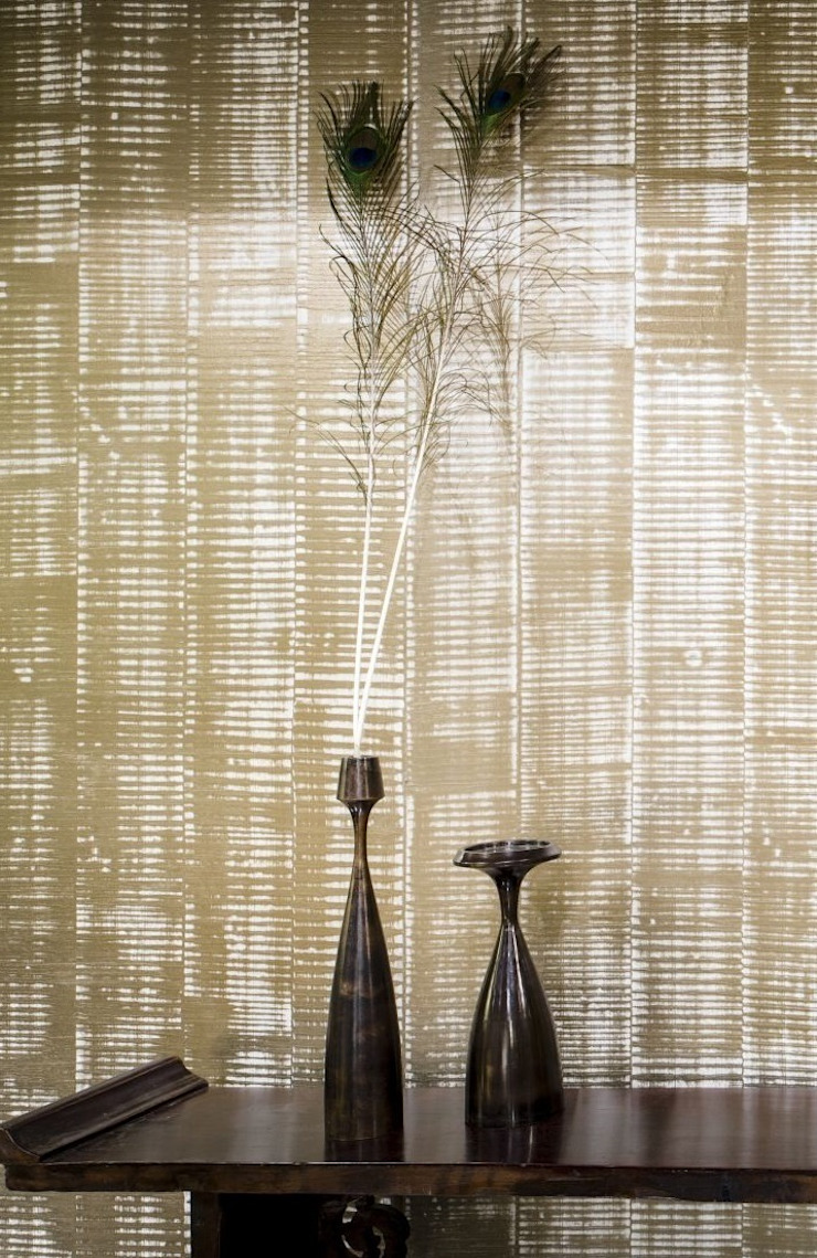 Lucca Hand Made Plaster Wallcovering by Architectural Textiles Ltd