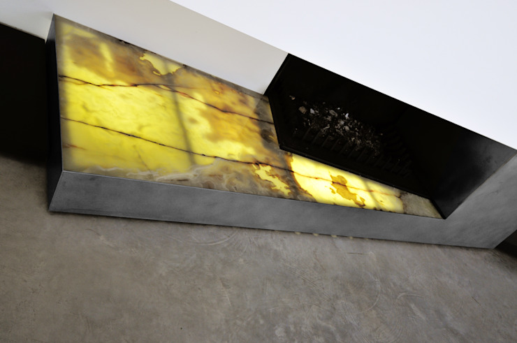 Salas de estilo  por tissellistudioarchitetti , Moderno