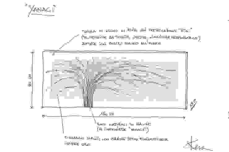 YANAGI di Arch. Laura Cera | KERA ecodesign Moderno