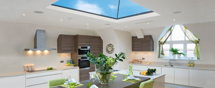 Roofmaker Modern style kitchen by Framemaster Modern